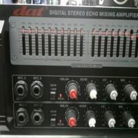 Power Ampli Amplifier Karaoke DAT P205UR P 205R USB Bluetooth TERBAIK