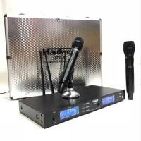 Wireless MIC HARDWELL JTS8 JTS 8 UHF 4 Antena UHF Multi Frekuensi