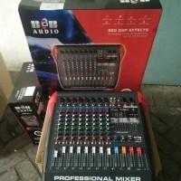 Mixer BOB 8 Channel APPLE 8 efek Effect Reverb Original Best deals