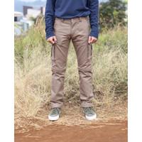 Cargo Khaki Variation ( 2 in 1 Short Pants / Long Pants)