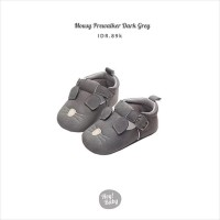 Hey Baby Mousy Prewalker (Dark Grey)