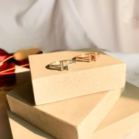 Dearme - IVANA Ring (S925 Silver - 18K Goldplating & Crystals)