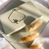 DearMe - GRACE Bracelet (14k Gold Plating with Crystals)