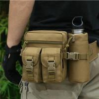 Tas Pinggang Tactical Army Dengan Tempat Botol Minum Import K162