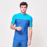 atasan baju renang pria dewasa ocean rash guard lee vierra