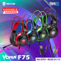 Rexus Vonix F75 RGB Gaming Headset