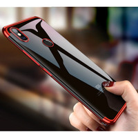 YZ Xiaomi Mi 8 - Plating Transparent Luxury Slim Case