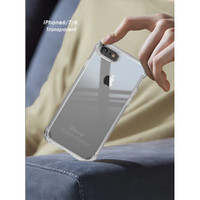 Ipaky iPhone 6 6s / 7 / 8 / 6s+ / 7+ / 8+ Transparen Acrylic Slim Case