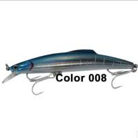 "SHINO HARD LURE ""MINNOW 17"" (Color 008) 15,9cm / 56gr (SINKING)"