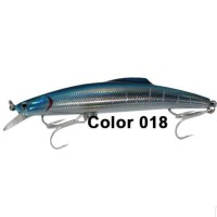"SHINO HARD LURE ""MINNOW 17"" (Color 018) 15,9cm / 56gr (SINKING)"