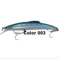 "SHINO HARD LURE ""MINNOW 17"" (Color 003) 15,9cm / 56gr (SINKING)"