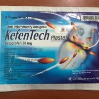 Kefentech Plaster - Ketoprofen 30mg anti inflammatory Analgesic
