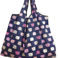 Big Foldable Shopping Reusable Tote Recycle Waterproof Storage Bag