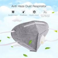 1Pc Folding Nonwoven Anti Fog Dust Reusable PM2.5 Respirator Mask