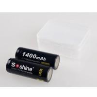 KST Transparent Battery Case for 2x18500 - Transparent