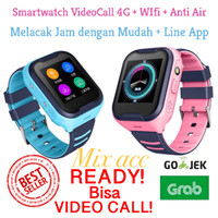 Smartwatch kids 4G VIDEO CALL WATERPROOF GPS Imoo Smartwatch jam A36E