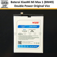 Baterai Vizz Double Power Original XiaoMi BM49 Mi Max 1 Batre Ori