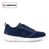 Sepatu Airwalk Pria Larqus Sneakers Navy Original