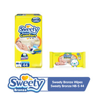 Sweety Bronze Wipes + Sweety Bronze NB S44