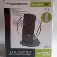 Antena Indoor Greentek AV-228 With Built-In Booster