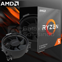 AMD Ryzen 5 3600 3,6Ghz - 4,2Ghz / 6 Core + 12 Thread - AM4