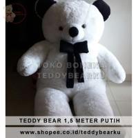 Harga boneka teddy bear super super jumbo ukuran 1 5 m khas | antitipu.com