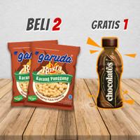 2 Pack Kacang Panggang Garuda Rosta Wagyu Free 1 Btl Chocolatos Drink