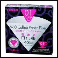 Item Hot Sale Hario V60 Paper Filter White Vcf-01-40W | Saringan Kopi
