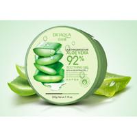 BIOAQUA Aloe Vera 92% Soothing Gel Cream Krim Gel Lidah Buaya - 220gr