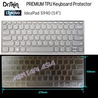 Keyboard Protector Lenovo Ideapad S940-14 - DrSkin PREMIUM TPU CLEAR