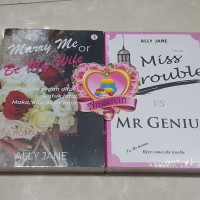 Marry Me or Be My Wife + Miss Trouble vs Mr. Genius by Ally Jane (2 Bu