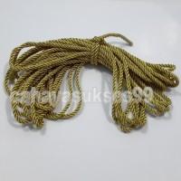 Tali Model Tambang Gold 3mm Talikur Kecil Souvenir Paper Bag Import 7m