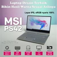 """MSI PS42 8RA069 - i5 8265U 8GB 512GB SSD MX250GB 14"""" FHD W10"""