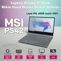 """MSI PS42 8MO272 - i5-8265U 4GB 256GB SSD 14"""" FHD W10"""