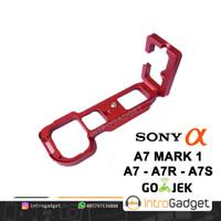 L Plate A7 A7R A7S Mark 1 Lplate Hand Grip Bricket Quick Release Merah