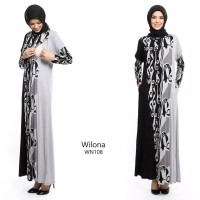 Gamis Long Dress Hamil Dan Menyusui Wilona