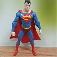 MAINAN TOPPER KUE SUPERMAN SATUAN BAHAN FIBER / PMSMAN
