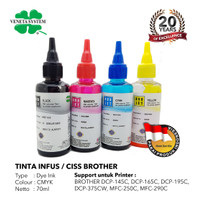 TINTA INFUS / CISS BROTHER BLACK / COLOR 70 ML