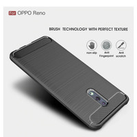 Oppo Reno 6.4 Inch Soft Case Brushed Carbon