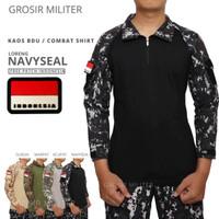 Combat Shirt Kaos BDU Gratis Patch