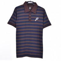 PSLR.BROWN / Men Polo Shirt Brown - Premium Nation Original