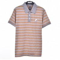 PSLR.KHAKI / Men Polo Shirt Khaki - Premium Nation Original