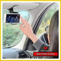Tempat Penjepit HP di Kaca Mobil - Phone Holder Mobil Jepit Sunvisor