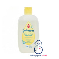 Johnson Baby Top To Toe Baby Wash Shampoo 100ml 200ml 2 in 1