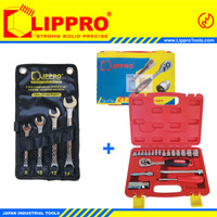 [BUNDLING] LIPPRO KUNCI SOK SET 21 PC & LIPPRO KUNCI RING PAS SET 4 PC