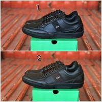 Sepatu Lacoste Regis Sneakers Kulit Pria Casual Formal Kerja Kantor