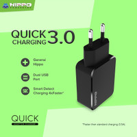 Hippo Quick Adapter Fast Charging 3.0 SImple Pack