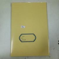 Sampul Buku Coklat Boxy Kertas Samson Tebal