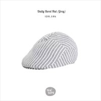 Hey Baby Daily Beret Hat (Grey)