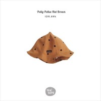 Hey Baby Polly Polka Hat Brown